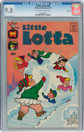 Bronze Age (1970-1979):Humor, Little Lotta #89 File Copy (Harvey, 1970) CGC NM/MT 9.8 Off-white to white pages....