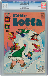 Little Lotta #89 File Copy (Harvey, 1970) CGC NM/MT 9.8 Off-white to white pages