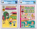 Bronze Age (1970-1979):Humor, Richie Rich Millions #76 and 108 CGC-Graded Group (Harvey, 1976-81) CGC NM/MT 9.8 White pages.... (Total: 2 )
