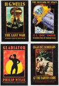 Books:General, Science Fiction & Fantasy Trade Paperbacks Group of 18 (Bison Books, 1999-2007).... (Total: 18 Items)