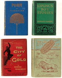 Adventure Novels Hardcover Editions Group of 22 (Various, 1891-1989).... (Total: 22 Items)