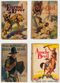 Books:Hardcover, Edgar Rice Burroughs Hardcover Editions Group of 9 (Grosset & Dunlap, 1924-33).... (Total: 9 Items)