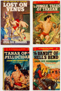 Books:Hardcover, Edgar Rice Burroughs and Others Foreign Language Editions Box Lot (Various, 1920s-60s)....