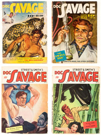 Doc Savage Canadian Editions Group of 8 (Street & Smith, 1940-47) Condition: Average VG/FN.... (Total: 8 Items)