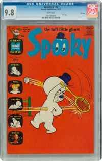 Spooky #127 File Copy (Harvey, 1971) CGC NM/MT 9.8 White pages