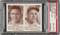Baseball Cards:Singles (1940-1949), 1941 Double Play Mel Ott-Babe Young #31/32 PSA NM-MT 8 - Only One Higher. ...