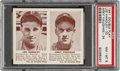 Baseball Cards:Singles (1940-1949), 1941 Double Play Lee Handley-Arky Vaughan #33/34 PSA NM-MT 8 - Pop Three, None Higher. ...