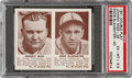 Baseball Cards:Singles (1940-1949), 1941 Double Play Johnny Mize-Enos Slaughter #39/40 PSA EX-MT+ 6.5. ...