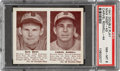 Baseball Cards:Singles (1940-1949), 1941 Double Play Max West-Carvel Rowell #43/44 PSA NM-MT 8 - Pop Three, None Higher. ...