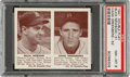Baseball Cards:Singles (1940-1949), 1941 Double Play Buck Newsom-Hank Greenberg #51/52 PSA NM-MT 8 - Only One Higher. ...