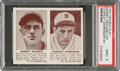 Baseball Cards:Singles (1940-1949), 1941 Double Play Barney McCosky-Charley Gehringer #53/54 PSA Mint 9 - Pop Two, None Higher. ...