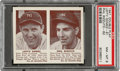 Baseball Cards:Singles (1940-1949), 1941 Double Play Lefty Gomez-Phil Rizzuto #61/62 PSA NM-MT 8 - None Higher. ...