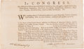 """Autographs:Statesmen, Henry Laurens Blank Military Appointment Signed """"Henry..."""