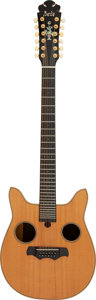 Musical Instruments:Acoustic Guitars, Leo Kottke's 1979 Custom Bozo Owl Natural Acoustic Guitar, Serial #418-79.. ...