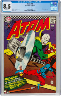 The Atom #28 (DC, 1967) CGC VF+ 8.5 Off-white pages