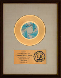 "Bloodstone ""Natural High"" White Matte RIAA Gold Sales Award (London, 1972)"