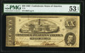 Confederate Notes:1862 Issues, T51 $20 1862 PF-4 Cr. 365 PMG About Uncirculated 53 EPQ.. ...
