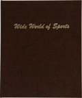 Baseball Collectibles:Others, 1980's-'90's Wide World of Sports Troy Ounce Silver Bars L...