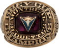 Football Collectibles:Others, 1974 Montreal Alouettes Grey Cup Championship Salesman's Sample Ring. ...