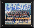 Football Collectibles:Photos, 1966 Green Bay Packers Team Signed Photograph. ...
