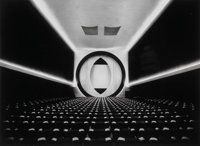 Ruth Bernhard (American, 1905-2006) Eighth Street Movie Theater, Frederick John Kiesler-Architect, New York