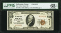 Galveston, TX - $10 1929 Ty. 1 The United States National Bank Ch. # 12475 PMG Gem Uncirculated 65 EPQ