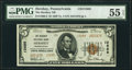 National Bank Notes:Pennsylvania, Hershey, PA - $5 1929 Ty. 2 The Hershey National Bank Ch. # 12688 PMG About Uncirculated 55 EPQ.. ...