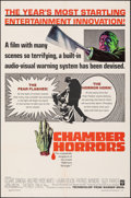 "Movie Posters:Horror, Chamber of Horrors (Warner Bros., 1966). Folded, Very Fine. One Sheet (27"" X 41""). Horror.. ..."