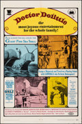 """Movie Posters:Fantasy, Doctor Dolittle & Other Lot (20th Century Fox, 1968). Folded, Very Fine-. One Sheets (2) (27"""" X 41""""). Fantasy.. ... (Total: 2 Items)"""