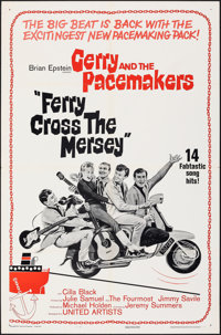 """Ferry Cross the Mersey (United Artists, 1965). Folded, Very Fine. One Sheet (27"""" X 41""""). Rock and Roll"""
