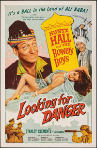 """Looking for Danger & Other Lot (Allied Artists, 1957). Folded, Very Fine-. One Sheets (2) (27"""" X 41""""). Com..."""