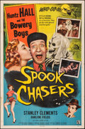 """Movie Posters:Comedy, Spook Chasers (Allied Artists, 1957). Folded, Fine/Very Fine. One Sheet (27"""" X 41""""). Comedy.. ..."""