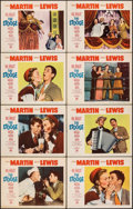 "Movie Posters:Comedy, The Stooge (Paramount, 1953). Fine/Very Fine. Lobby Card Set of 8 (11"" X 14""). Comedy.. ... (Total: 8 Items)"