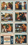 """Movie Posters:Western, Vera Cruz & Other Lot (United Artists, 1954). Overall Grade: Fine/Very Fine. Lobby Card Set of 8 (11"""" X 14""""), Insert (14"""" X ... (Total: 30 Items)"""