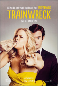 "Trainwreck & Other Lot (Universal, 2015). Rolled, Very Fine+. One Sheets (2) (27"" X 40"") DS Advance. Comed..."