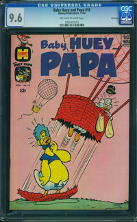 Baby Huey and Papa #10 - File Copy (Harvey, 1963) CGC NM+ 9.6 Off-white to white pages