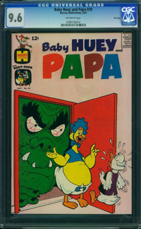 Baby Huey and Papa #29 - File Copy (Harvey, 1967) CGC NM+ 9.6 Off-white pages