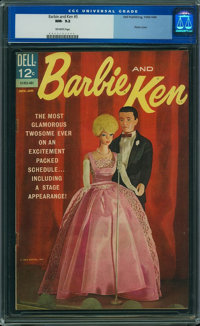 Barbie and Ken #5 (Dell, 1964) CGC NM- 9.2 Off-white pages