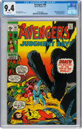 Bronze Age (1970-1979):Superhero, The Avengers #90 (Marvel, 1971) CGC NM 9.4 White pages....