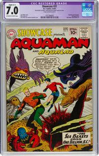 Showcase #31 Aquaman (DC, 1961) CGC Apparent FN/VF 7.0 Slight (C-1) Off-white to white pages