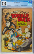 Four Color #159 Donald Duck (Dell, 1947) CGC FN/VF 7.0 Off-white to white pages