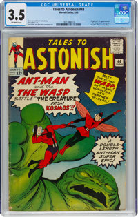 Tales to Astonish #44 (Marvel, 1963) CGC VG- 3.5 Off-white pages