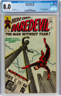 Daredevil #8 (Marvel, 1965) CGC VF 8.0 Off-white to white pages