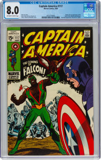 Captain America #117 (Marvel, 1969) CGC VF 8.0 Off-white to white pages
