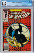 Modern Age (1980-Present):Superhero, The Amazing Spider-Man #300 (Marvel, 1988) CGC VF 8.0 Off-white to white pages....