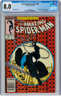 The Amazing Spider-Man #300 (Marvel, 1988) CGC VF 8.0 Off-white to white pages