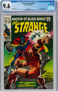 Doctor Strange #182 (Marvel, 1969) CGC NM+ 9.6 Off-white to white pages