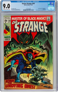 Doctor Strange #183 (Marvel, 1969) CGC VF/NM 9.0 Off-white to white pages