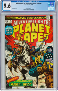 Adventures on the Planet of the Apes #1 (Marvel, 1975) CGC NM+ 9.6 White pages