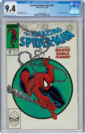 The Amazing Spider-Man #301 (Marvel, 1988) CGC NM 9.4 Off-white to white pages